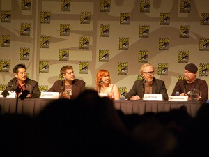 The cast of Mythbusters