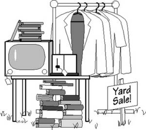 Yard Sale Oct. 15-17 - 22880 Wren St